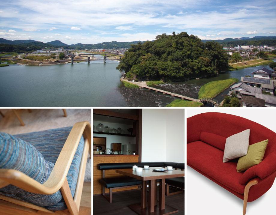今日も日田で家具をつくっています。